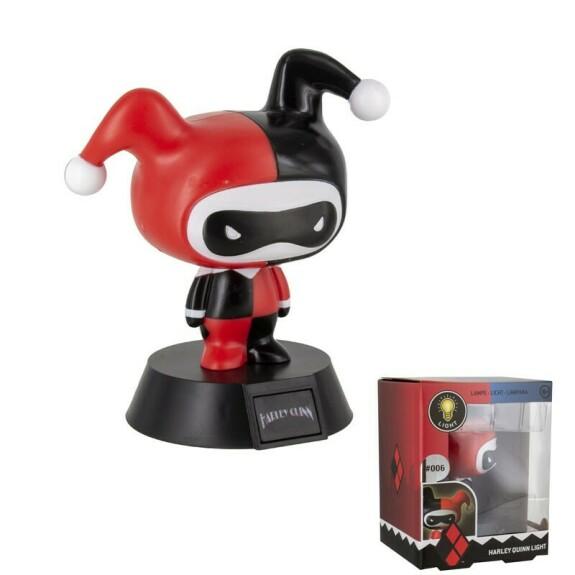 Lampe figurine Harley Quinn