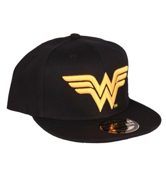 Casquette Wonder Woman logo doré