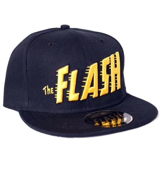 Casquette Flash logo texte