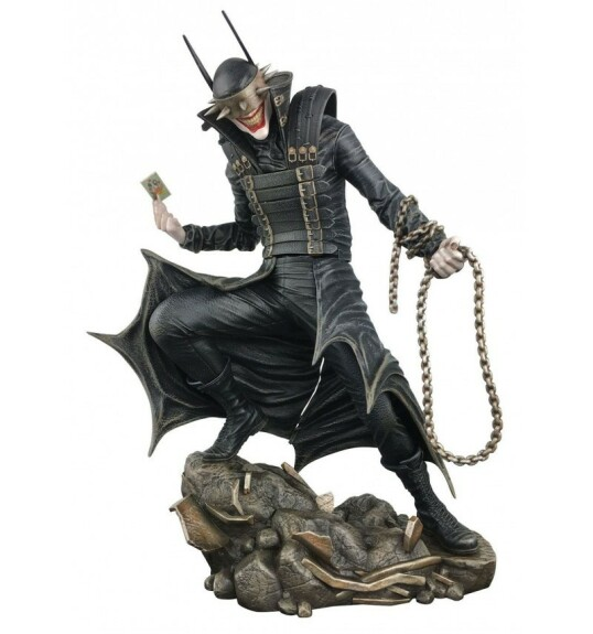 The Batman Who Laughs statue PVC 23 cm Diamond Select DC Gallery