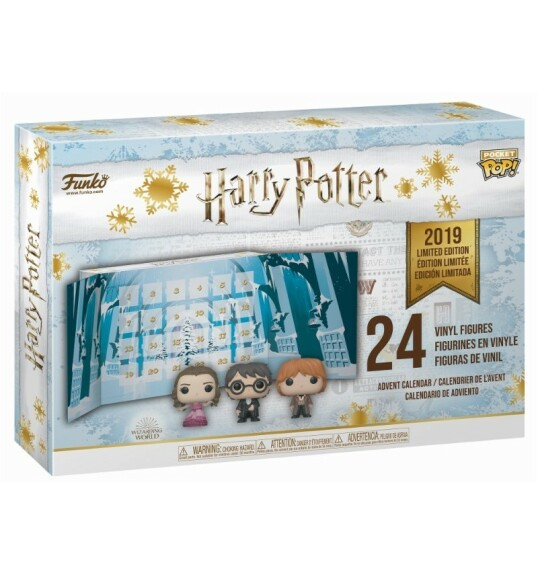Calendrier de l'Avent Funko Harry Potter Yule Ball 24 mini figurines