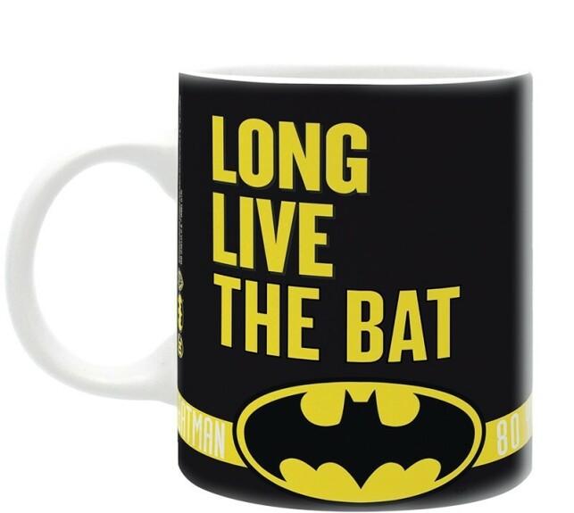 Mug Batman Long Live the Bat Anniversaire Batman 80 ans