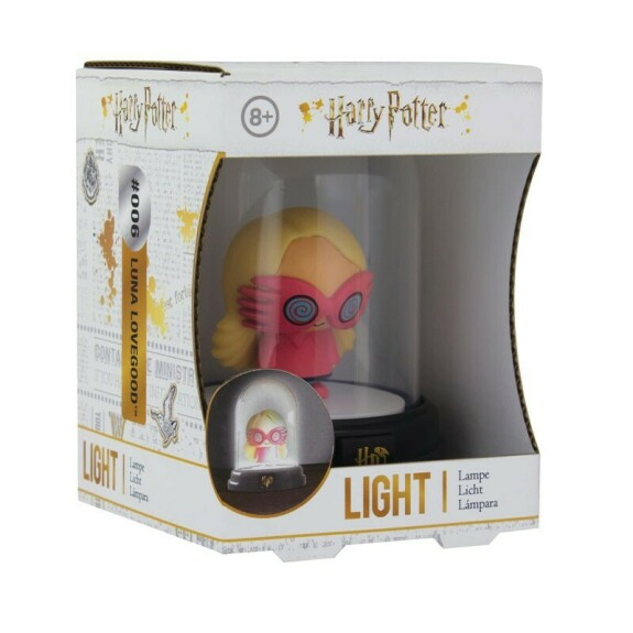 Mini lampe sous cloche figurine Luna Lovegood