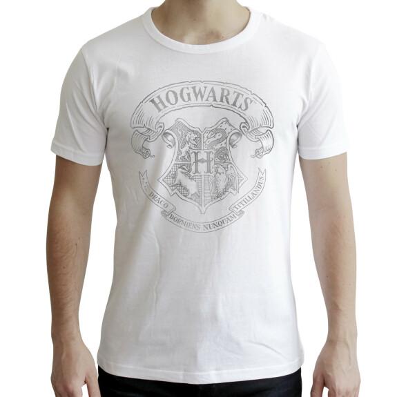 T-shirt Poudlard blanc