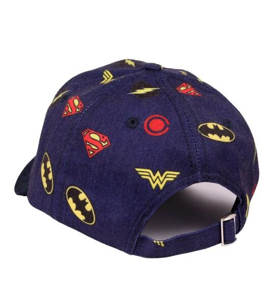 Casquette Justice League logos héros