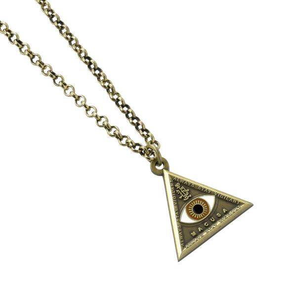 Collier Œil triangle
