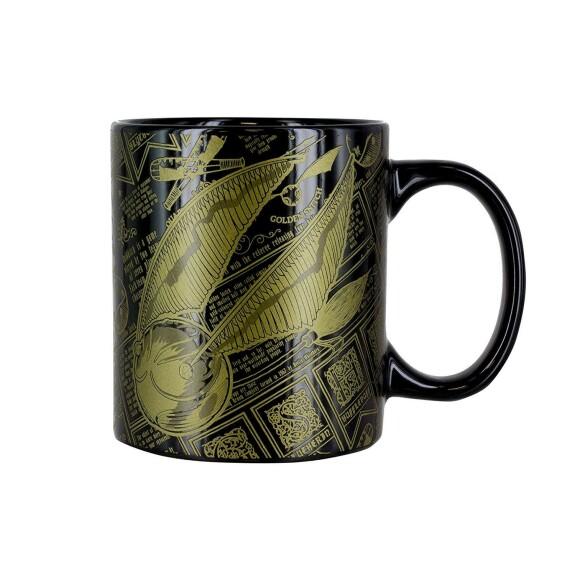 Mug Noir Vif d'Or