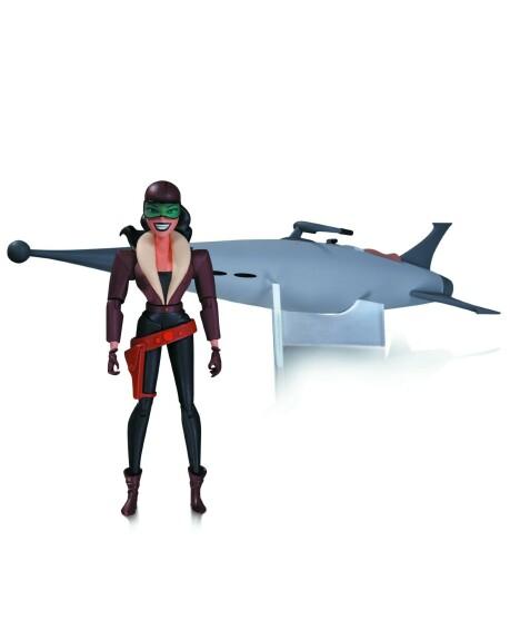 Roxy Rocket  et sa roquette Figurine 16 cm