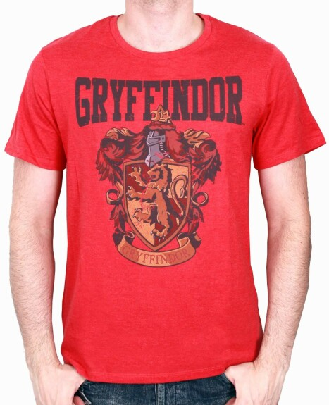 T-shirt Gryffondor blason rouge