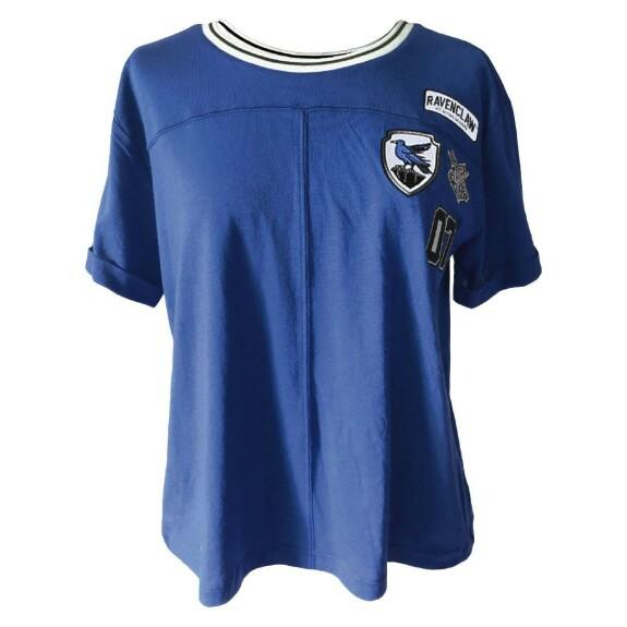 T-shirt Femme Serdaigle Patches bleu
