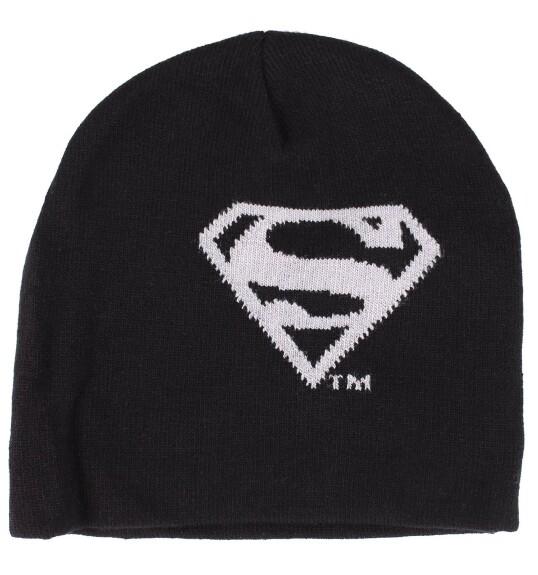 Bonnet Superman logo gris