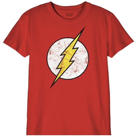 T-shirt Enfant Flash Logo Classic Rouge