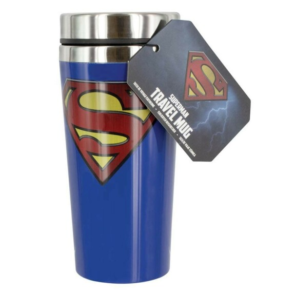 Mug de voyage Superman isotherme 450 ml