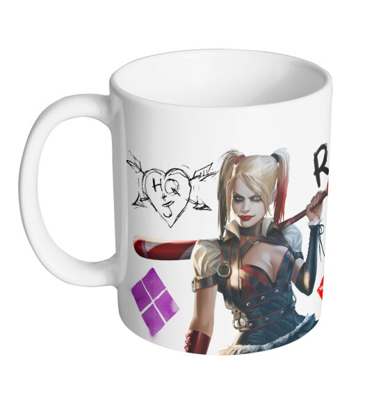 Mug Harley Quinn RIP
