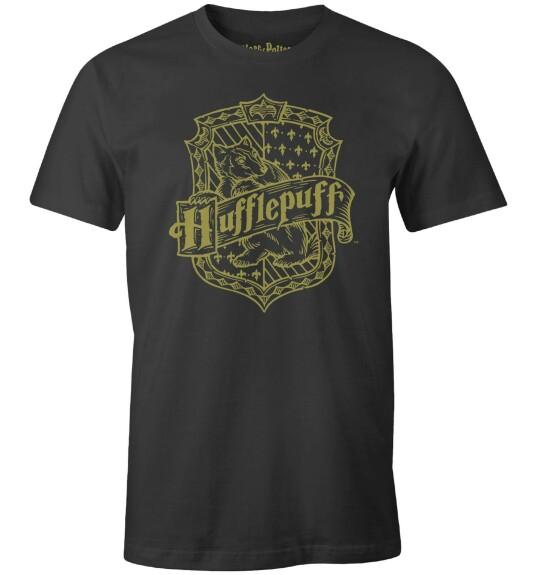 T-shirt Poufsouffle Blaireau anthracite-chiné