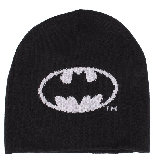Bonnet Batman logo gris