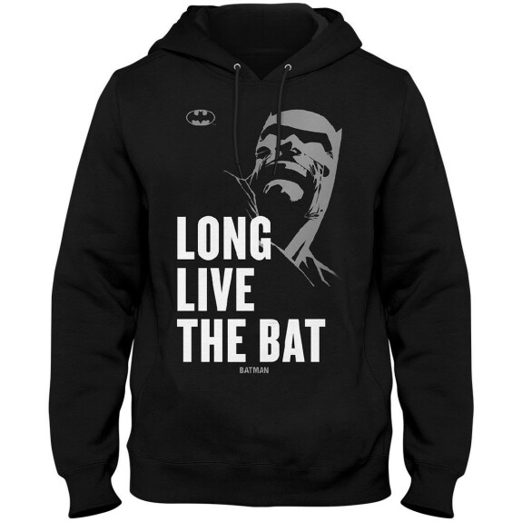 Sweatshirt Batman Long Live The Bat 80th Anniversary Noir