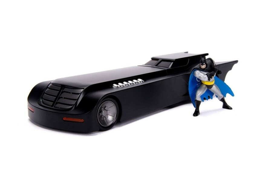 Batman et la Batmobile The Animated Serie 1/24 Jada Toys