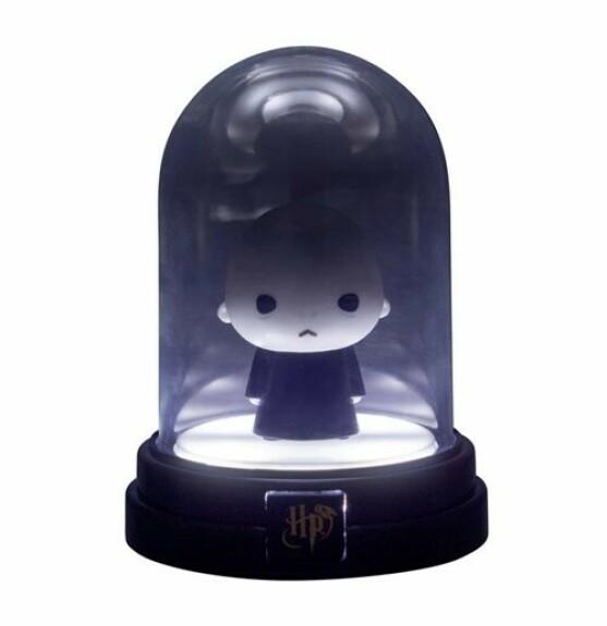 Mini lampe sous cloche figurine Voldemort