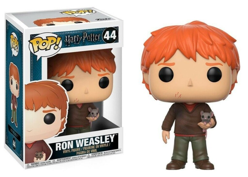 Figurine Ron Weasley avec Croûtard Funko POP