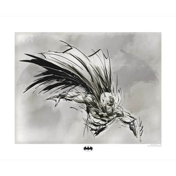Artprint Batman crayonné