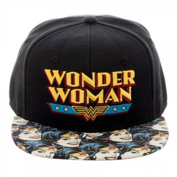 Casquette Wonder Woman comics classique
