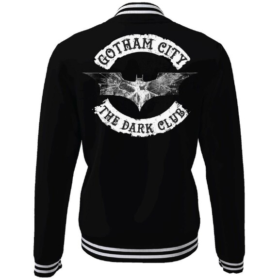 Blouson Teddy Gotham City The Dark Club