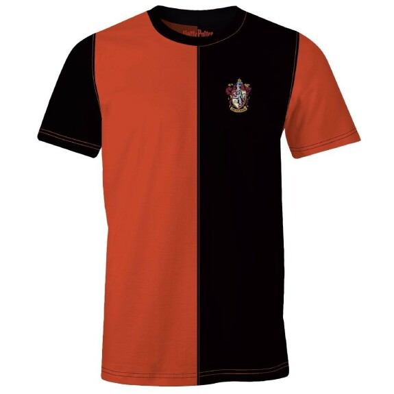 T-shirt Gryffondor Quidditch Team rouge