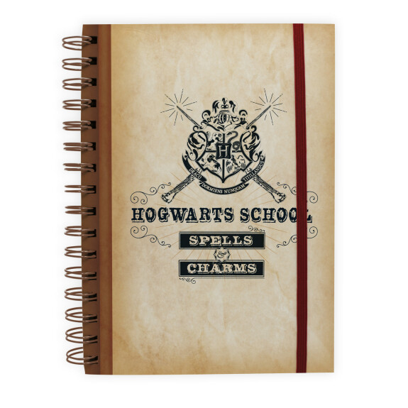 Cahier à spirale Hogwarts School Spells and Charms
