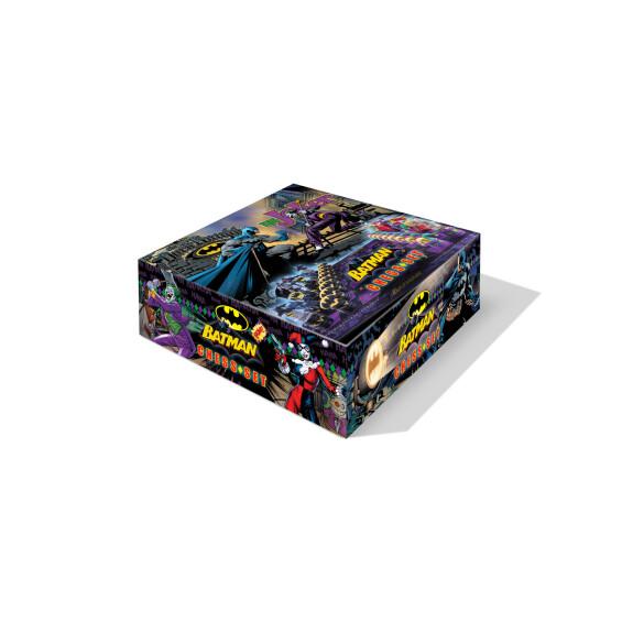 Échiquier Batman vs Joker pièces couleur