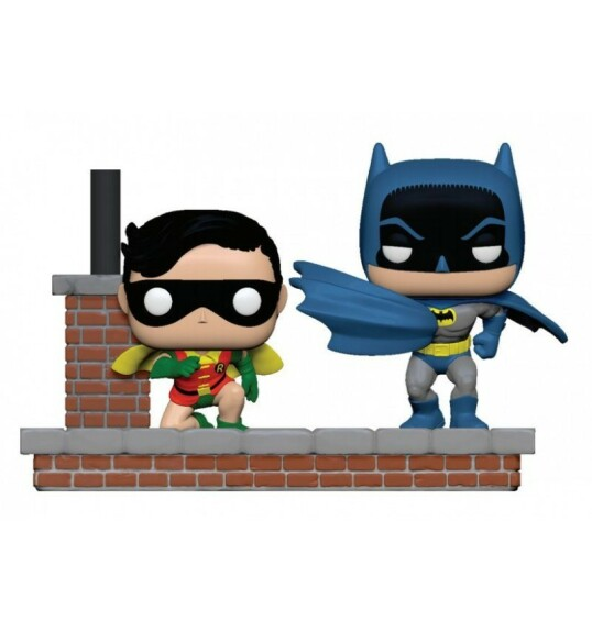 Batman 1964 Batman et Robin 9cm Funko POP Batman 80th Anniversary