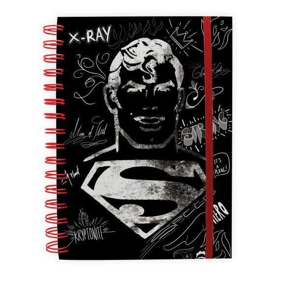 Cahier graphique Superman à spirales 100 pages