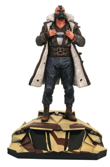 Bane figurine PVC The Dark Knight Diamond Select DC Gallery 23cm