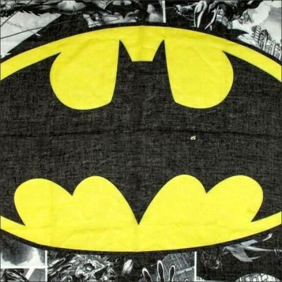 Foulard tube Batman comic strip et logo