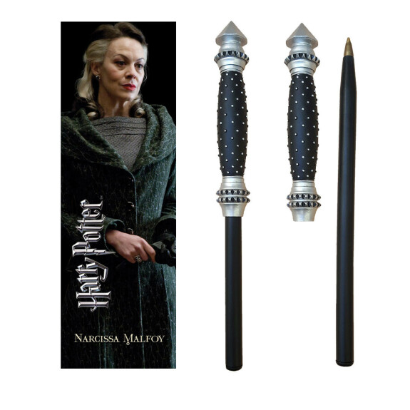Kit stylo baguette magique et marque-page Narcissa Malefoy