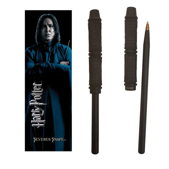 Kit stylo baguette magique et marque-page Rogue