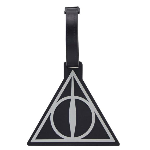 Porte étiquette pour bagage - Logo Les Reliques de la Mort