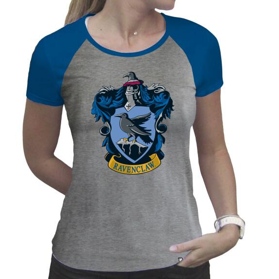 T-shirt Serdaigle Femme Gris et Bleu premium
