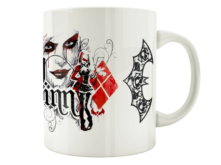 Mug Harley Quinn visage et chauve-souris