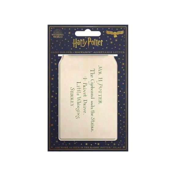 Porte-cartes lettre d'acceptation à Poudlard de Harry Potter