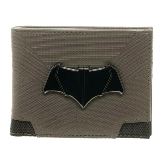 Portefeuille Batman vs Superman logo métal