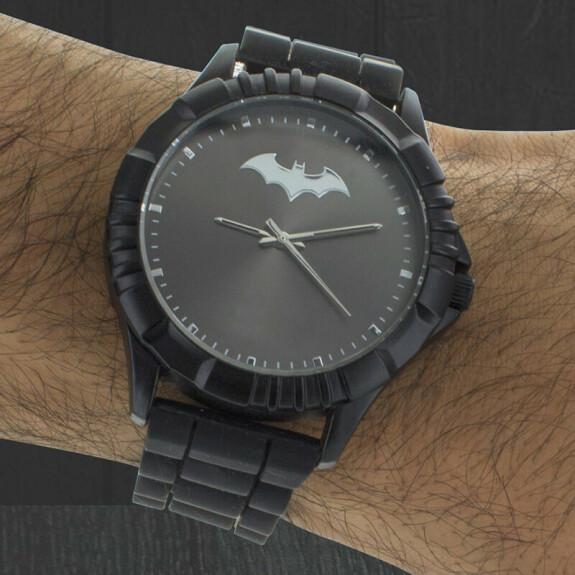 Montre Batman analogique noire