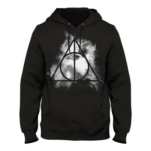 Sweatshirt Logo Les Reliques de la Mort noir