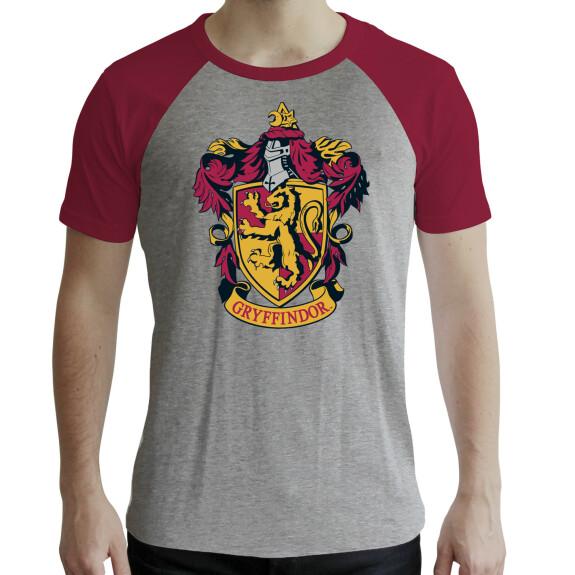 T-shirt Gryffondor Gris et Rouge premium