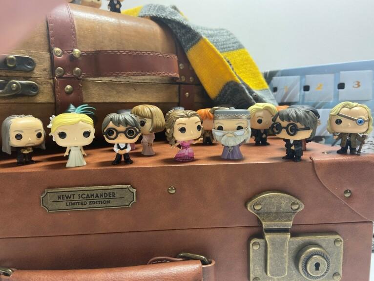 Calendrier de l'Avent Funko Harry Potter Yule Ball 24 mini figurines