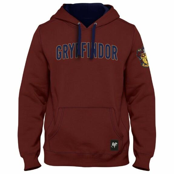Sweatshirt Gryffondor Emblème Bordeaux