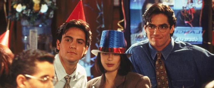 Michael Landes aux côtés de Teri Hatcher et Dean Cain dans Loïs et Clark