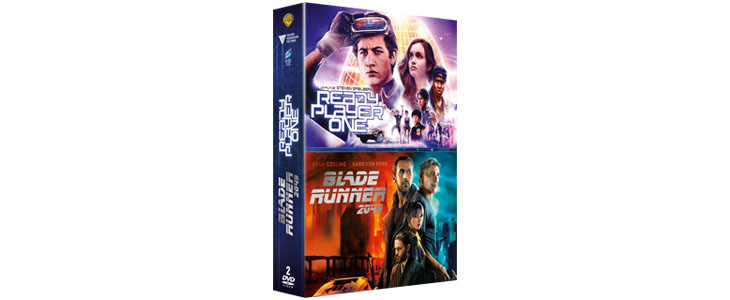 Coffret Ready Player One + Blade Runner 2049