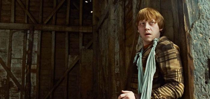Rupert Grint dans Harry Potter