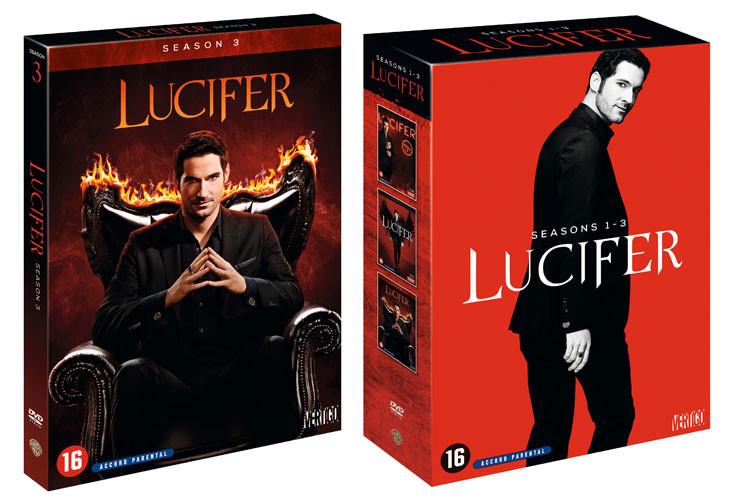 Lucifer saison 3 en DVD.